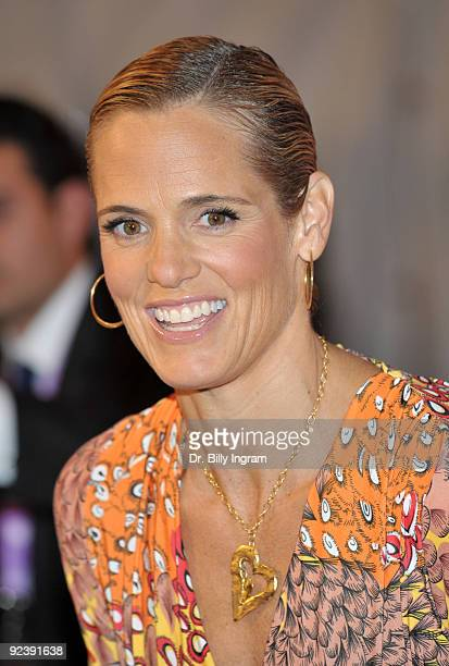 Olympian Dara Torres attends the 2009 Women's Conference Day 2 at the Long Beach Convention Center on October 27 2009 in Long Beach California