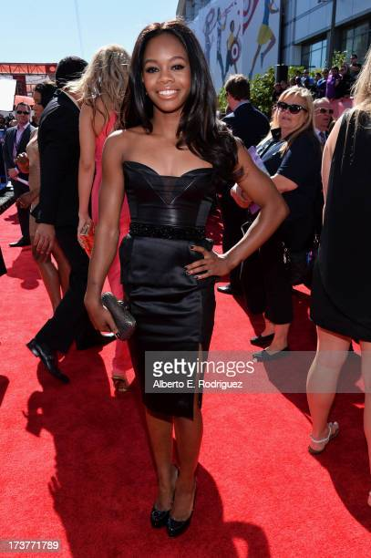 Olympian Gabrielle Douglas attends The 2013 ESPY Awards at Nokia Theatre LA Live on July 17 2013 in Los Angeles California
