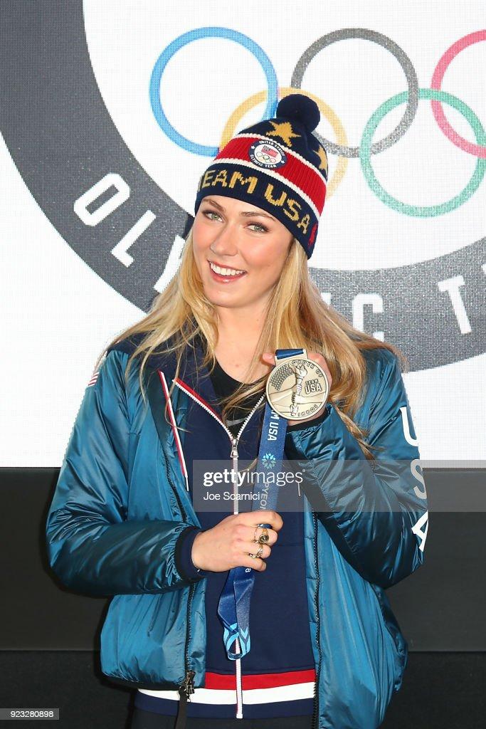 USA House at the PyeongChang 2018 Winter Olympic Games : ニュース写真