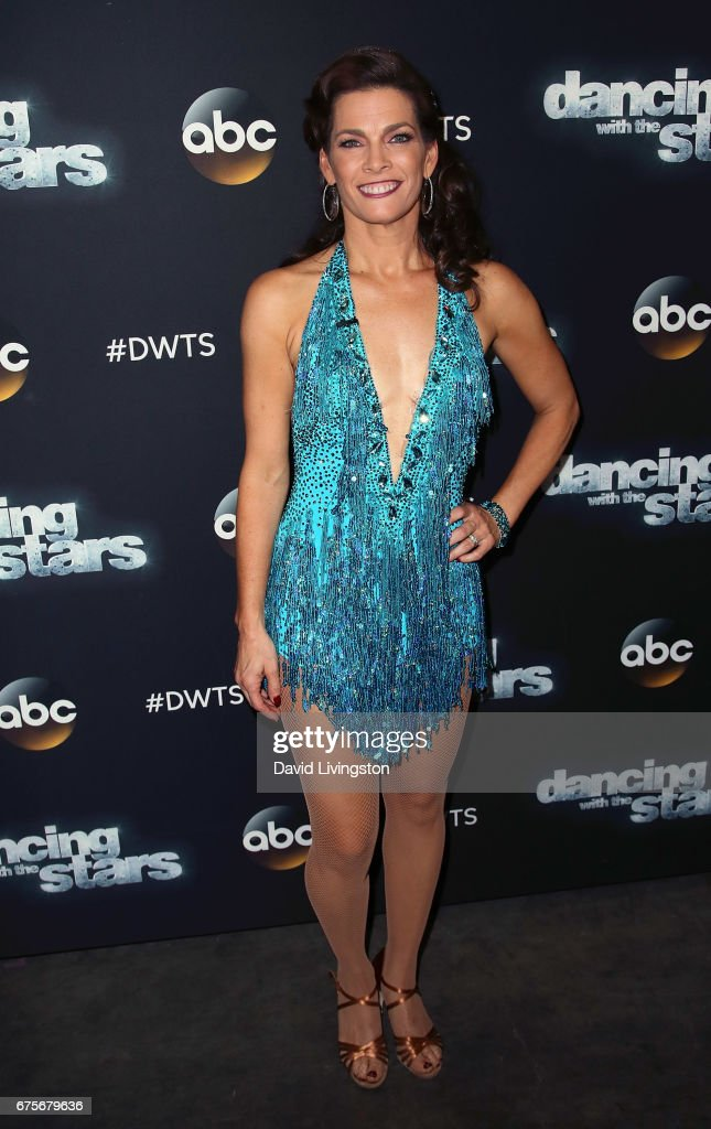 Olympian Nancy Kerrigan attends 'Dancing with the Stars' Season 24 at CBS Televison City on May 1, 2017 in Los Angeles, California.