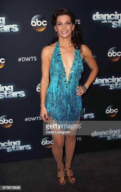 Olympian Nancy Kerrigan attends 'Dancing with the Stars' Season 24 at CBS Televison City on May 1 2017 in Los Angeles California