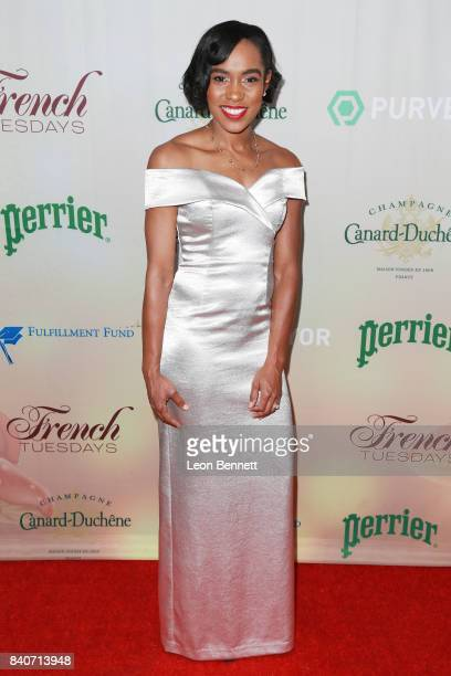 Olympian Shevon Nieto attends the 7th Annual Celebration of Life And Paying It Forward at Le Jardin on August 29 2017 in Hollywood California