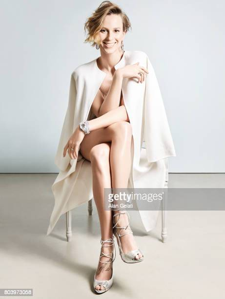 Olympian swimming athlete Federica Pellegrini is photographed for Vanity Fair on January 26 2016 in Milan Italy