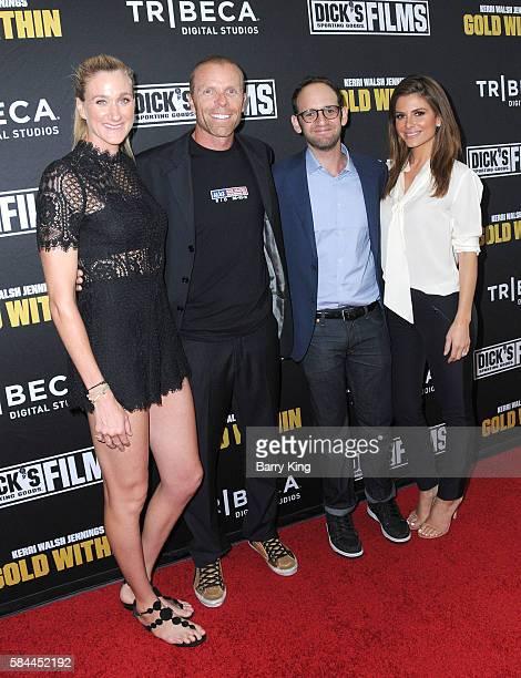 Olympian/beach volleyball player Kerri Walsh Jennings husband beach volleyball player Casey Jennings director Gabriel Spitzer and actress Maria...