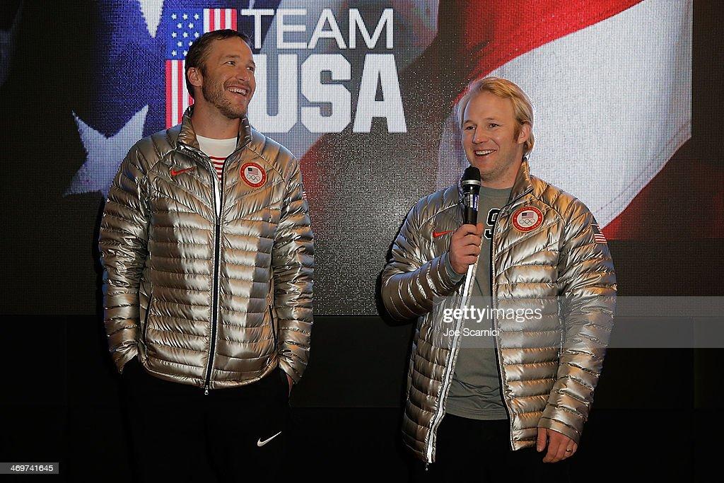 US Olympians Visit USA House