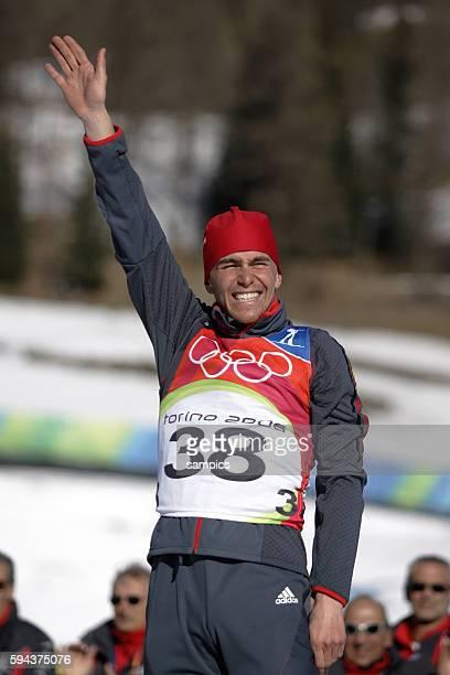 Olympiasieger Michael Greiss GER 20 km Biathlon Mnner 1 2 2006 olympische Winterspiele in Turin 2006 olympic winter games in torino 2006