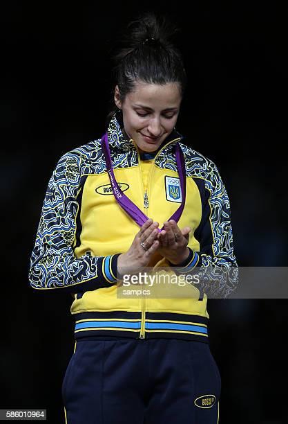 Olympiasiegerin Yana Shemyakina Olympische Sommerspiele 2012 London Degen Fechten Damen Einzel Olympic Games 2012 London Women 's Epee Individual...