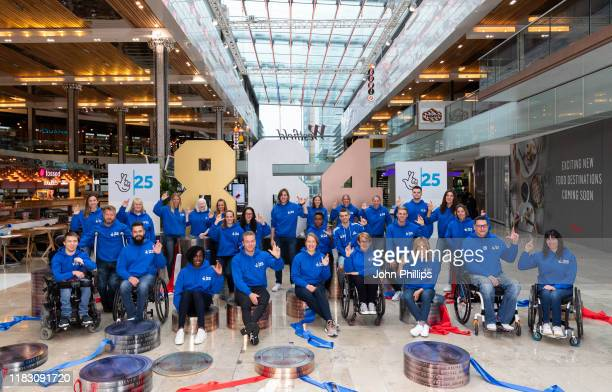 Olympic and Paralympic medallists gather to celebrate The National Lottery's 25th Birthday and its transformative effect on Great Britain and...