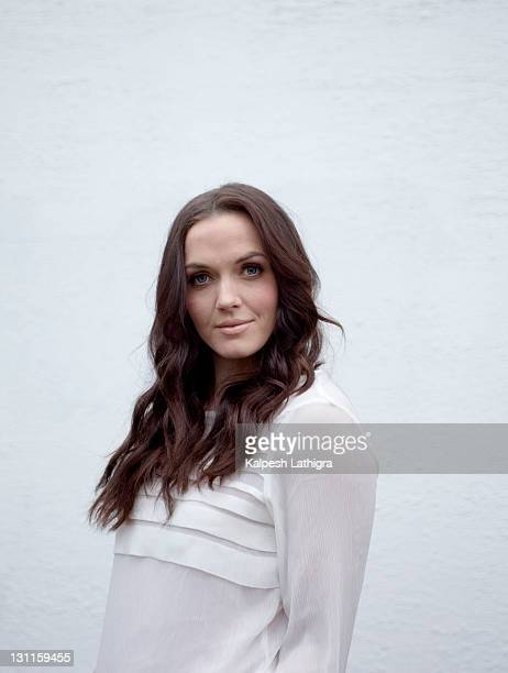 Olympic and world champion track cyclist, Victoria Pendleton is photographed for the Independent on December 28, 2010 in London, England.