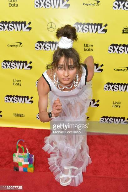 Olympic athlete and actress Alexi Pappas attends the 'Olympic Dreams' premiere during the 2019 SXSW Conference and Festivals at ZACH Theatre on March...