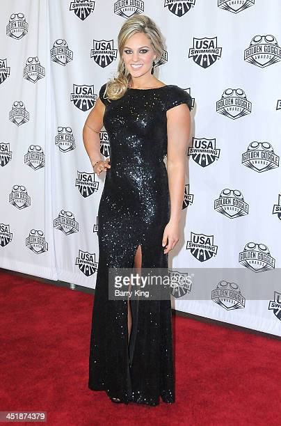 Olympic Athlete Chloe Sutton attends the 2013 Golden Goggle Awards on November 24 2013 at JW Marriott Los Angeles Hotel at LA LIVE in Los Angeles...