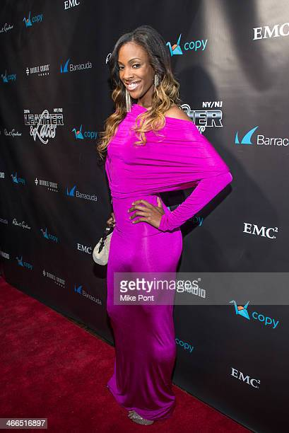 Olympic Athlete DeeDee Trotter attends the 11th Annual 'Leather Laces' Party at The Liberty Theatre on February 1 2014 in New York City