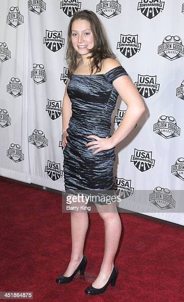 Olympic Athlete Eva Fabian attends the 2013 Golden Goggle Awards on November 24 2013 at JW Marriott Los Angeles Hotel at LA LIVE in Los Angeles...