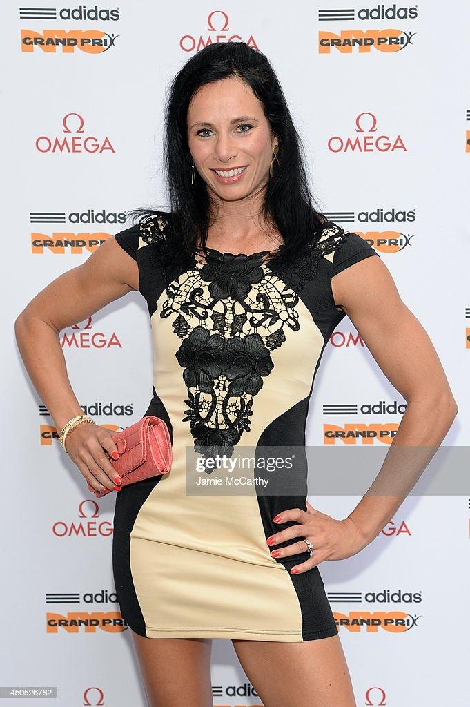 Adidas Grand Prix Celebration At OMEGA Fifth Avenue Boutique : News Photo