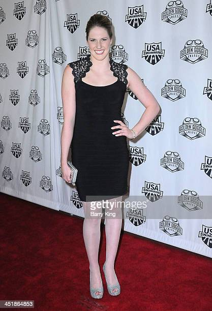 Olympic Athlete Missy Franklin attends the 2013 Golden Goggle Awards on November 24 2013 at JW Marriott Los Angeles Hotel at LA LIVE in Los Angeles...