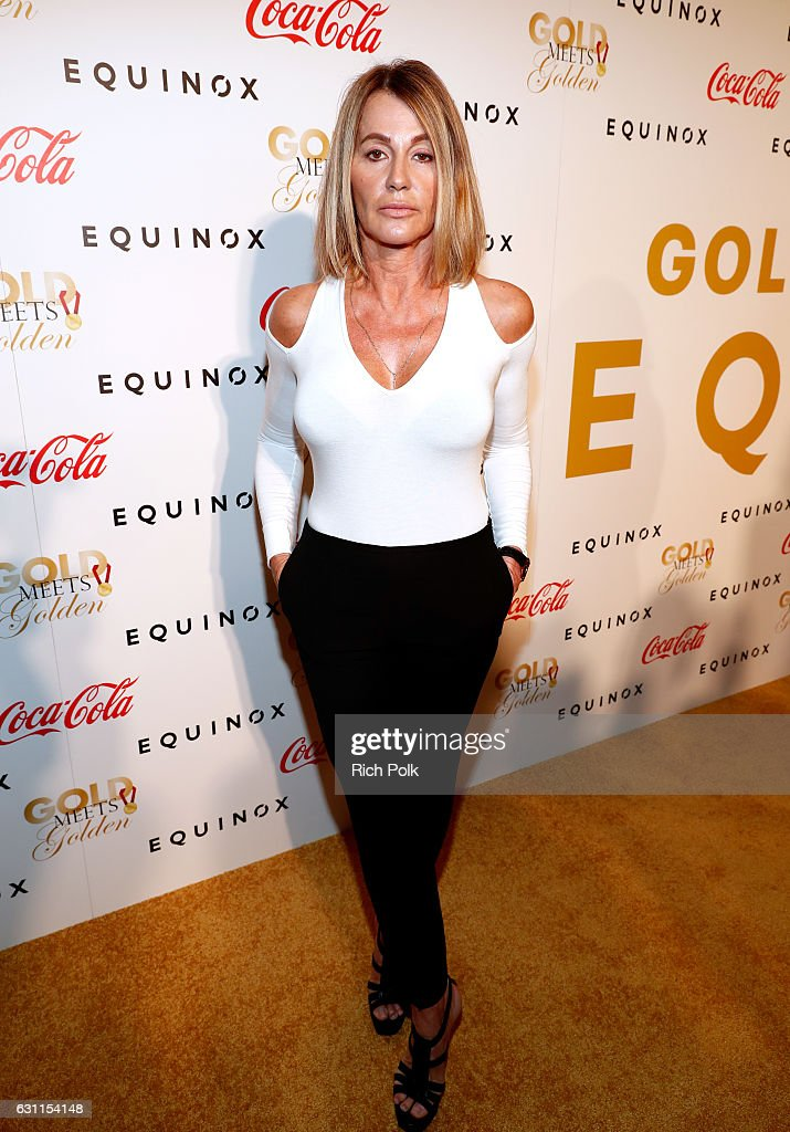 Olympic athlete Nadia Comaneci attends Life is Good at GOLD MEETS GOLDEN Event at Equinox on January 7, 2017 in Los Angeles, California.