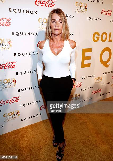 Olympic athlete Nadia Comaneci attends Life is Good at GOLD MEETS GOLDEN Event at Equinox on January 7 2017 in Los Angeles California