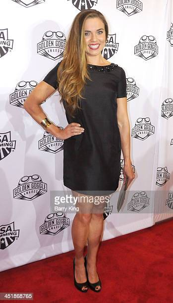 Olympic Athlete Natalie Coughlin attends the 2013 Golden Goggle Awards on November 24 2013 at JW Marriott Los Angeles Hotel at LA LIVE in Los Angeles...