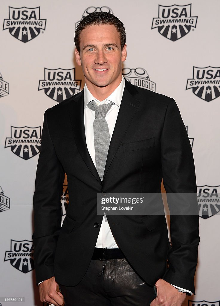 Olympic athlete Ryan Lochte attends the 2012 Golden Goggle awards at the Marriott Marquis Times Square on November 19, 2012 in New York City.