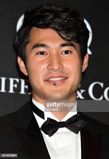 Olympic athletes Shota Iizuka attends the GQ Men Of The Year 2016 at the Tokyo American Club on November 21 2016 in Tokyo Japan