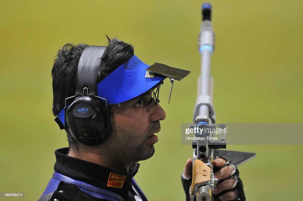 Olympic Champion Abhinav Bindra Wins Gold At Asian Air Gun Championship