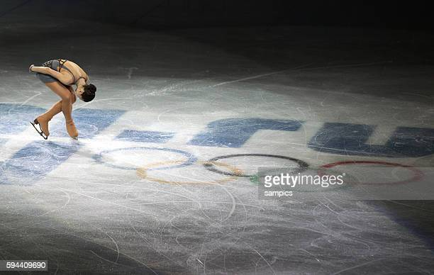 Olympic Champion Adelina Sodnikova Figureskating Ladies Free Skating Iceberg XXII Olympic Winter Games Sochi 2014