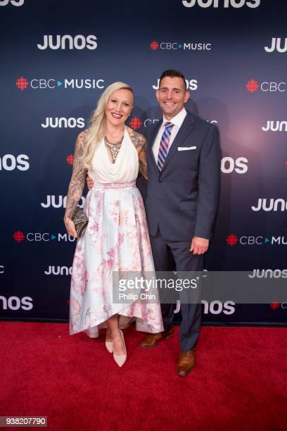 Olympic champion Kaillie Humphries attends the red carpet arrivals at the 2018 Juno Awards at Rogers Arena on March 25 2018 in Vancouver Canada