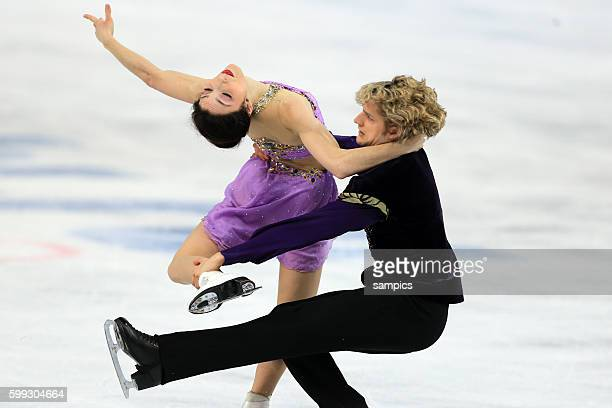 Olympic Champion Olympiasieger Goldmedalist Goldmedailiengewinner DAVIS Meryl / WHITE Charlie USA Eistanz Kür ice dance free Eiskunstlaufen Figure...