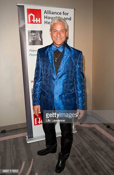 Olympic Diver Greg Louganis attends Alliance For Housing And Healing 2015 A Faire Of The Heart Gala at SLS Hotel on April 9 2015 in Beverly Hills...