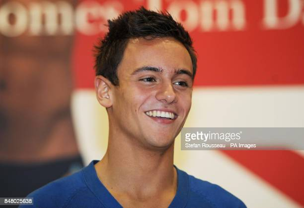 Olympic diver Tom Daley at the launch of his autobiography Tom Daley My Story at Waterstones in London's Piccadilly as he celebrates his 18th birthday