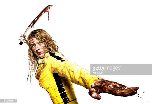 Olympic fencing champion Britta Heidemann is photographed for Useless magazine on August 1 2007 in Munich Germany