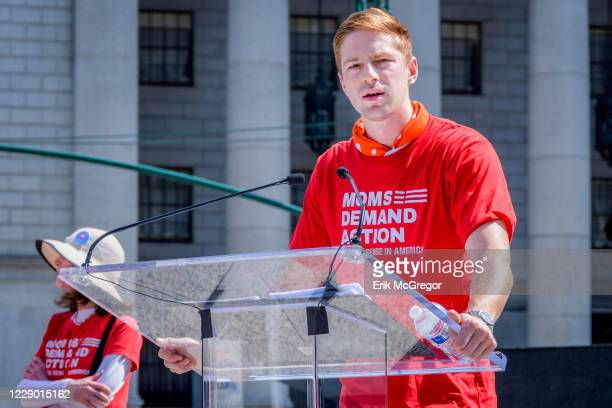 Olympic fencing medalist Race Imboden, who took a knee in protest during his team's foil medal ceremony at the Pan American Games - Moms Demand...