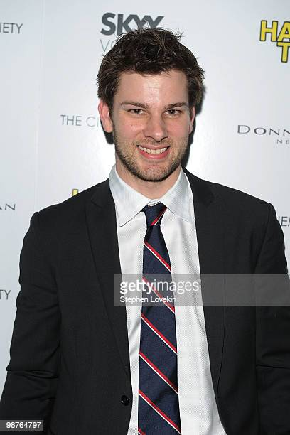 Olympic fencing medalist Tim Morehouse attends a screening of Happy Tears hosted by the Cinema Society and Donna Karan at The Museum of Modern Art on...