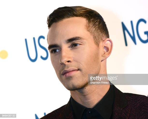 Olympic figure skater Adam Rippon attends the 2018 BestoftheBest Awards Gala at the Washington Hilton on April 18 2018 in Washington DC
