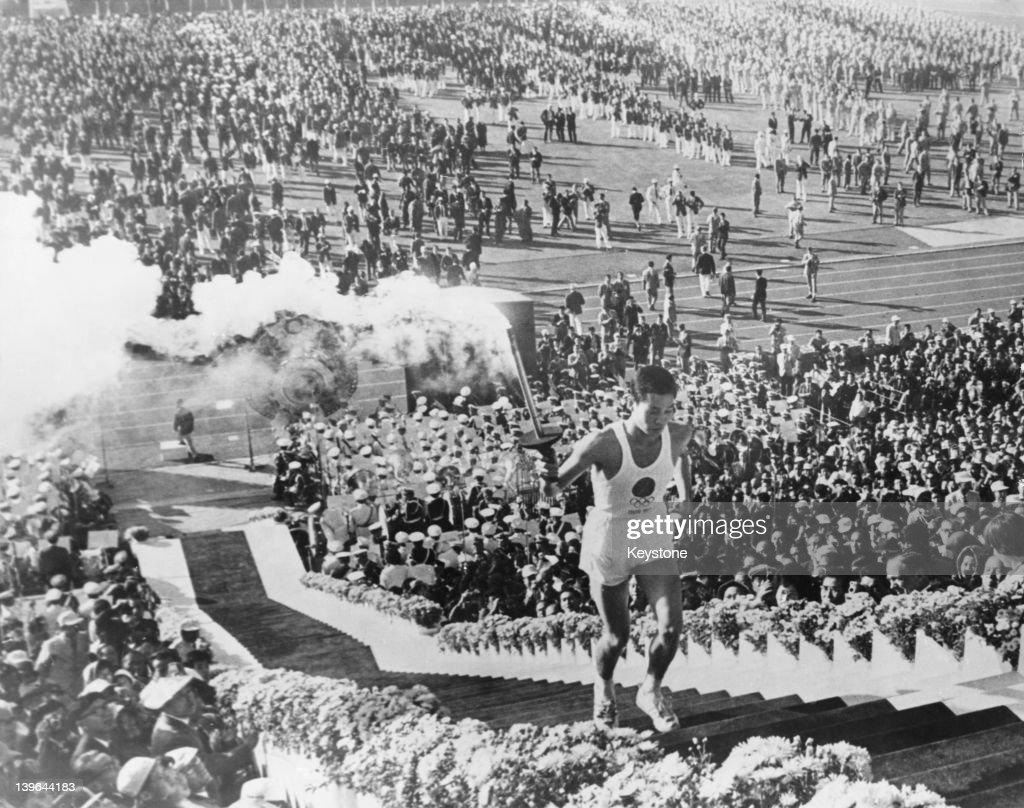 Tokyo Olympics Torchbearer : ニュース写真