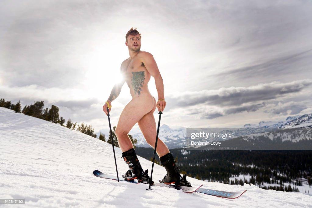 Nude winter sports — photo 12