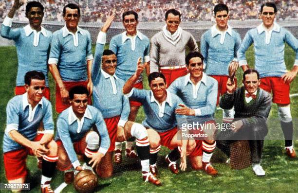 Olympic Games Amsterdam Holland FootballThe Uruguayan team that won the gold medal