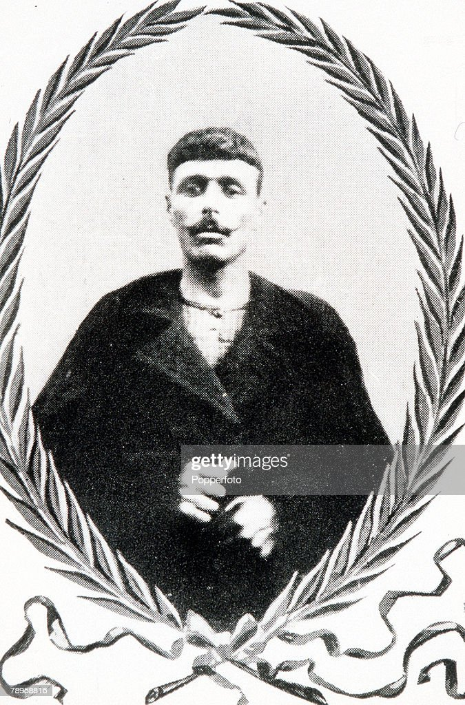 Olympic Games, Athens, Greece, Marathon, Gold medallist Spyridon Louis of Greece