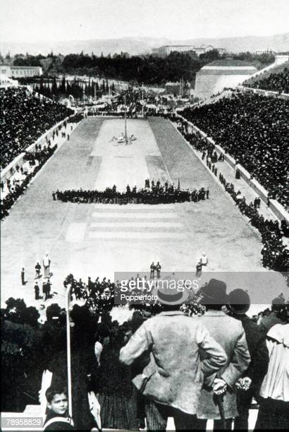 Olympic Games, Athens, Greece, The Olympic Stadium for the first ever Olympic Games