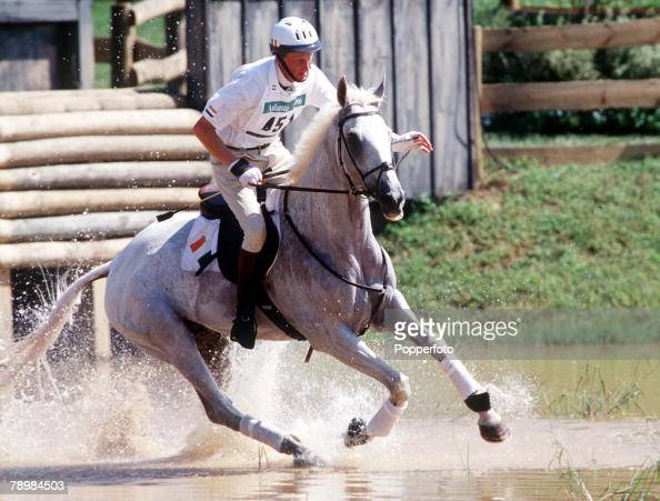 Olympic Games Atlanta Usa Equestrian Team Three Day