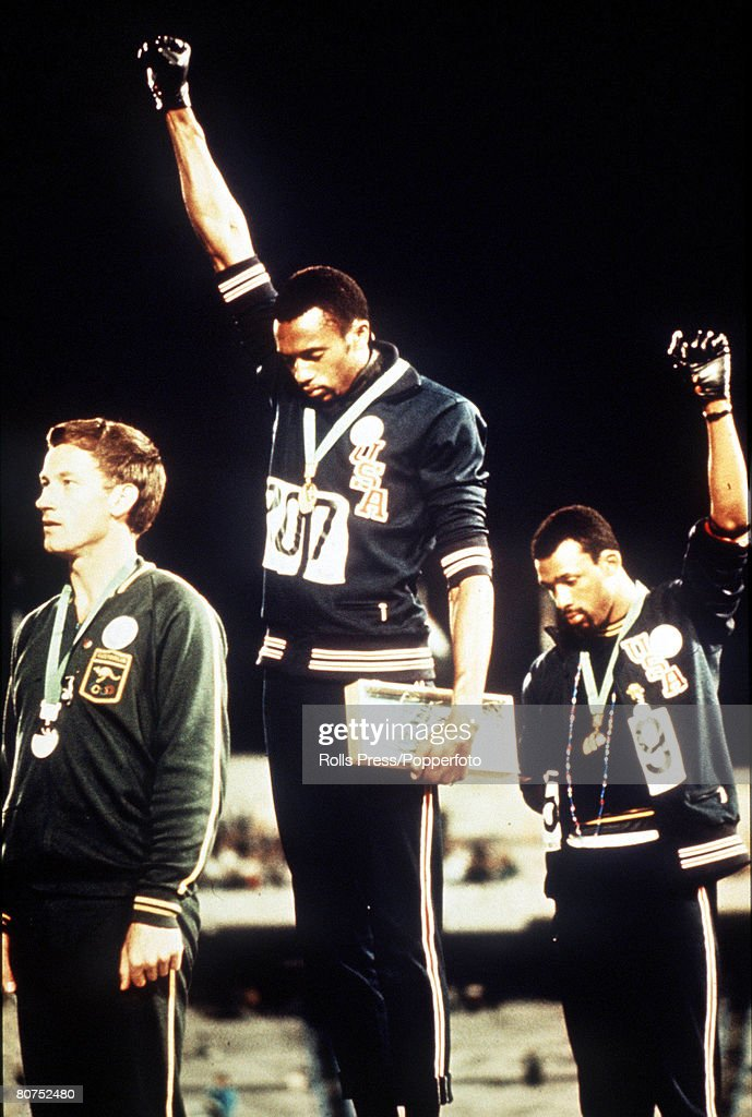 40 Years Since US Athletes Made Black Power Salute At Olympics