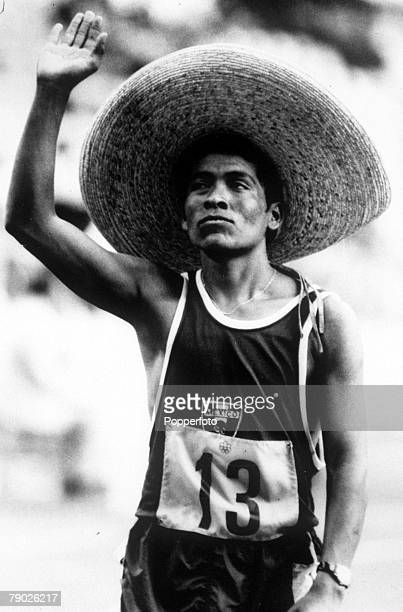 Olympic Games, Montreal, Canada, Mens 20 Km Walk, Mexico's Daniel Bautista, Gold medal