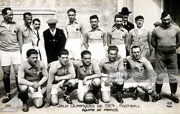 Olympic Games Paris France Football The French soccer team