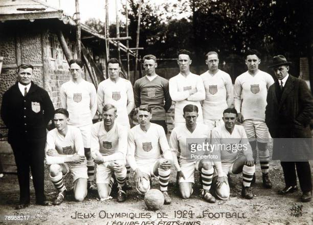 Olympic Games, Paris, France, Football, The USA soccer team