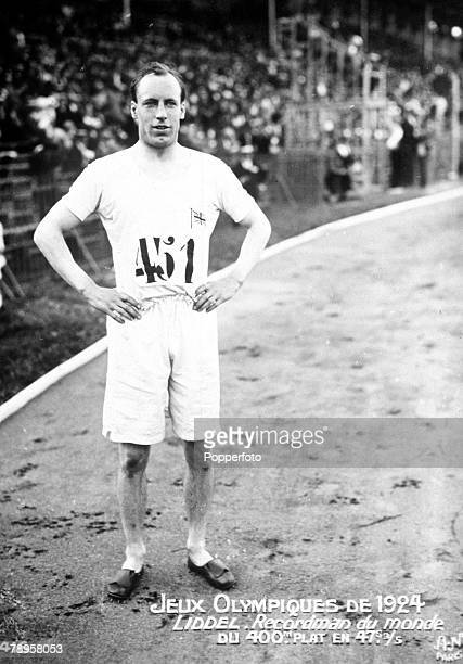 Olympic Games Paris France Men's 200 MetresGreat Britain's Eric Liddell who won the gold medal in the 400 metres