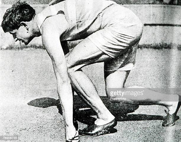 Olympic Games, Paris, France, Mens 400 metres,USA's Maxie Long, winner of the gold medal