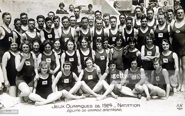 Olympic Games Paris France SwimmingThe Great Britain team