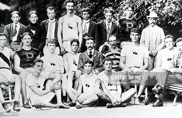 Olympic Games Paris France The first USA Olympic representatives a small unofficial team
