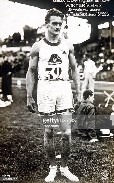 Olympic Games Paris France Triple JumpAustralia's Anthony Winter who won the gold medal