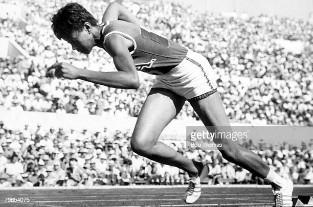 Olympic Games Rome Italy Women's 200 metres Heat USA's Wilma Rudolph sets a new Olympic record of 232 secs in the opening heat Rudolph went on to win...